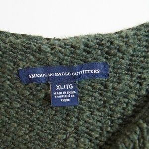 American Eagle Outfitters Sweaters - American Eagle | Green Knit Top
